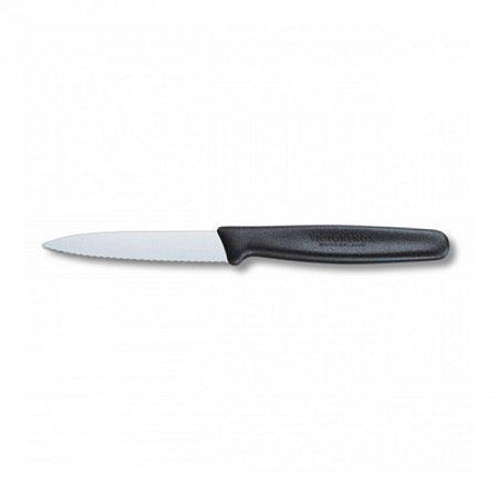 Кухонный нож Victorinox 5.0633 8см, серрейтор черный Victorinox