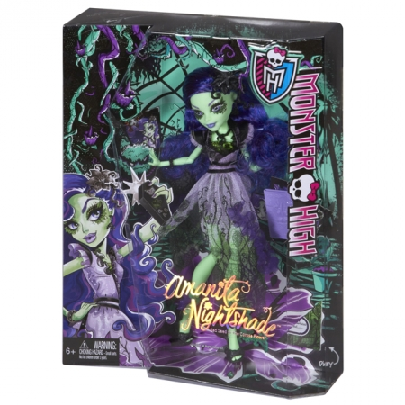 Кукла Аманита Найтшейд, Monster High, Mattel (CKP50)