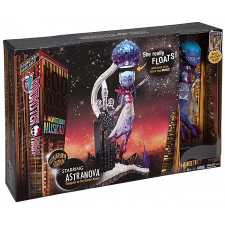 Кукла Астранова с набором для левитации из м/ф Буу-Йорк, Буу-Йорк, Monster High, Mattel (CHW58)