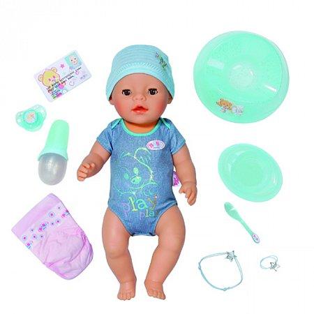 Кукла BABY BORN - ОЧАРОВАТЕЛЬНЫЙ МАЛЫШ (43 см, с чипом и аксессуарами), Zapf 818343 Zapf