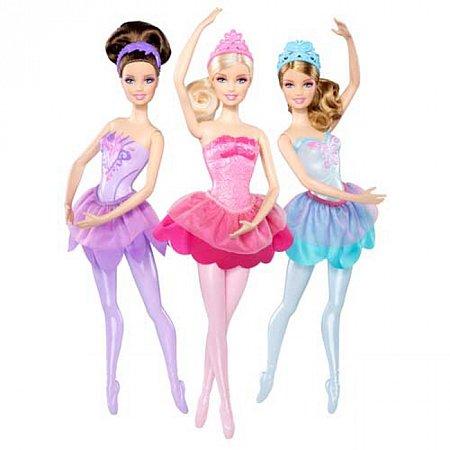 Кукла Балерина из м/ф Барби: Розовые туфельки в ассорт., Х8821
