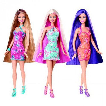 Кукла Барби Фантастические волосы в ассорт. (4), ВВ9516