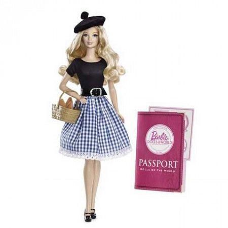 Кукла Барби Франция серии Страны мира, Х8420