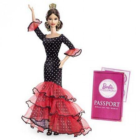 Кукла Барби Испания серии Страны мира, Х8421