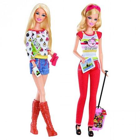 Кукла Барби серии Angry Birds в ассорт. (2), Y8720