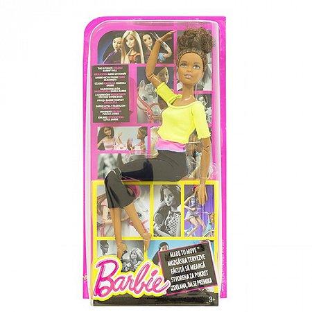 Кукла Барби, серия Двигайся как я, в салатовой кофточке, Barbie, Matell, салатовая кофточка, DHL81-2