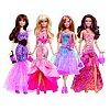 Кукла Барби в вечернем платье в ассорт. (4), Y7495