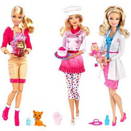 Кукла Барби Я могу быть ... в ассорт. (4), РР4226