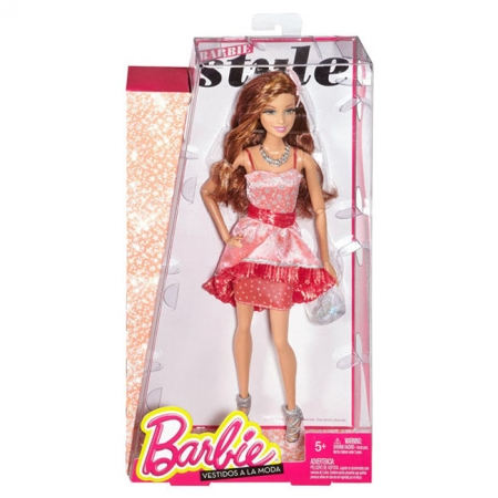 Кукла Barbie Гламурная вечеринка Розово-красная, Barbie, Mattel, Розово-красная, CCM02-2