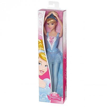 Кукла Дисней Балерина, Золушка в голубом платье, Disney Princess, Mattel, Золушка, в голубом, CGF30-1