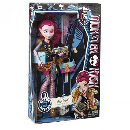 Кукла Джиджи Грант, серия Новый страхоместр, Monster High, Джиджи Грант, Mattel (CDF50-2)