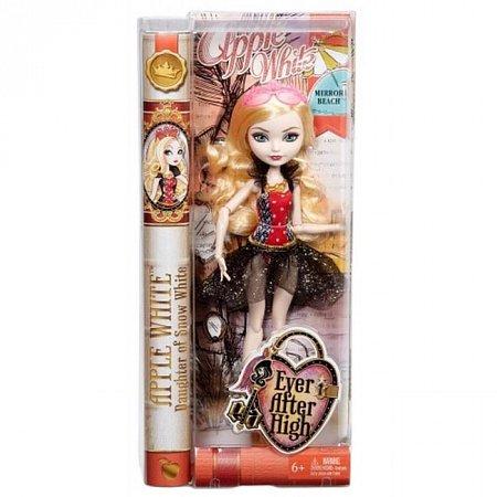 Кукла Эппл Уайт, Зеркальный пляж, Ever After High, Mattel, Эпл Уайт, CLC64-1