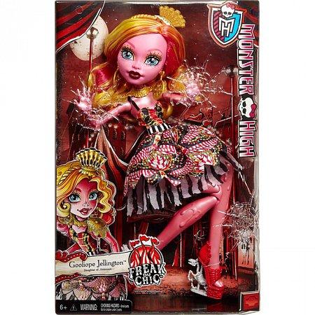 Кукла Гулиопа серии Монстро-цирк, Monster High, Mattel (CHW59)