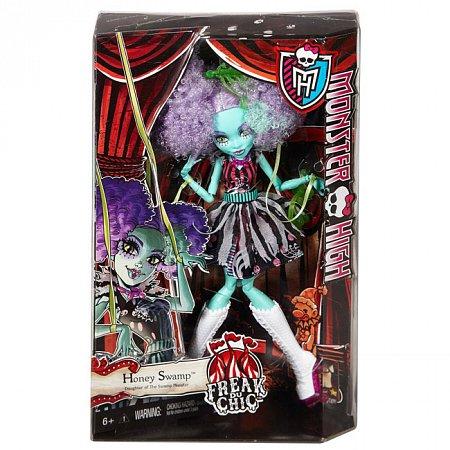 Кукла Хани Свамп серии Монстро-цирк, Monster High, Хани Свамп, Mattel (CHY01-3)