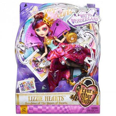 Кукла из мультфильма Приключения в Стране Чудес, Ever After High, Mattel, Дочь Червонной Королевы (CJF39-3)