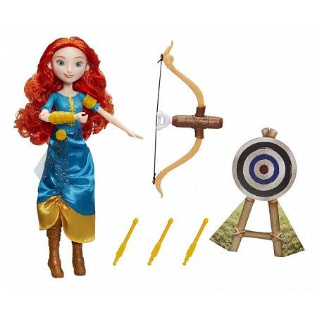 Кукла Мерида и ее хобби, Храбрая сердцем, Disney Princess Hasbro, B9147 (B9146)