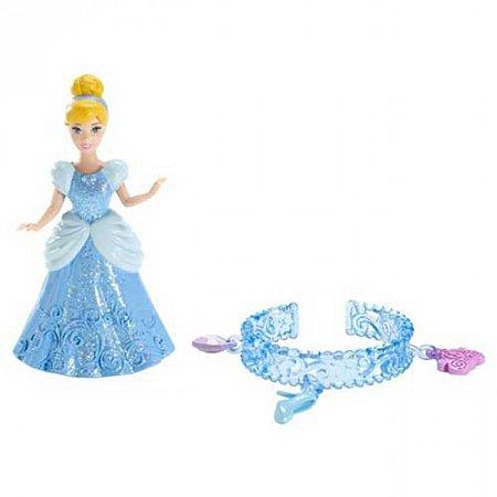 Кукла Мини-принцесса Золушка с браслетом для девочки Дисней, Х7491 Mattel