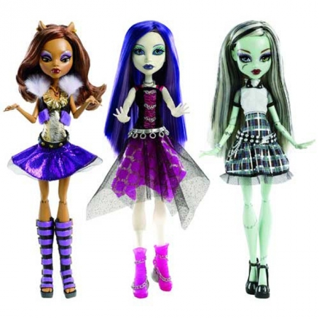 Кукла Monster High серии Оно живое! в ас. (3), У0421