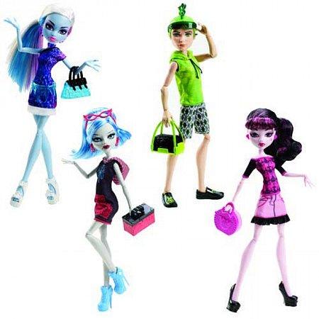 Кукла Monster High серии Путешествие в Скарис в ассорт. (4), У0392