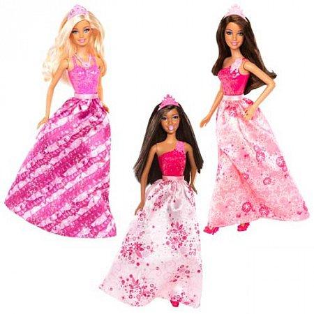 Кукла Принцесса Барби серии Мир сказки в ассорт. (3), РР6390