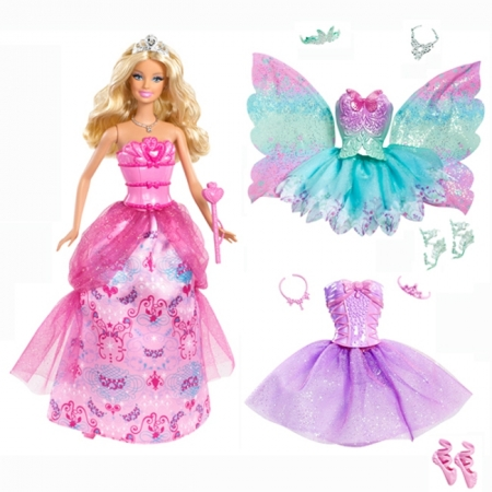Кукла Принцесса Барби в сказочных костюмах, Ш2930