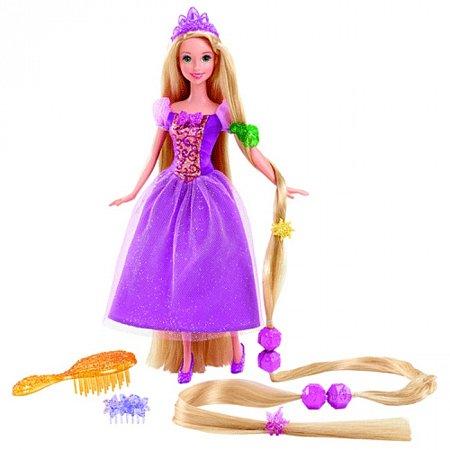 """Кукла Принцесса Рапунцель """"длинные волосы"""" Дисней, Y0973 Mattel"""