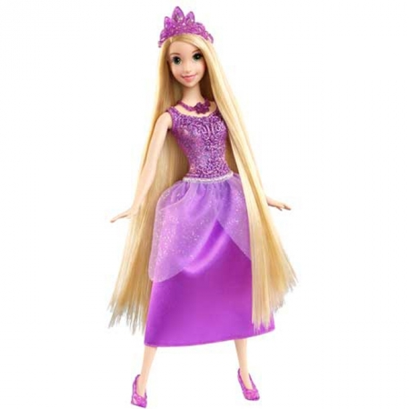 Кукла Принцесса Рапунцель Сияющая Дисней, Х9381
