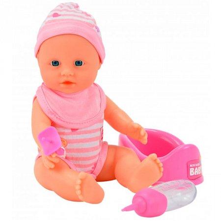 Кукла-пупс девочка с аксессуарами, 30 см, New Born Baby, 503 7800-1