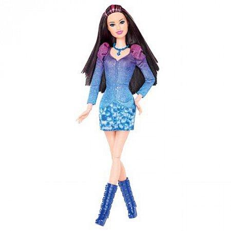Кукла Ракель Модница голубая, Х7872