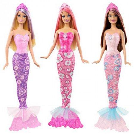 Кукла Русалка Барби серии Мир сказки в ассорт. (3), Х9452