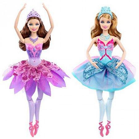 Кукла Сказочная балерина из м/ф Барби: розовые туфли в ассорт. (2), Х8812