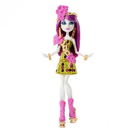 Кукла Спектра Вондергейст, Spectra Vondergeist, серия Монстрические каникулы, Monster High, Spectra Vondergeist, DKX94-1