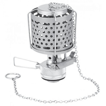 Лампа газовая с металлическим плафоном (пьезоподжиг, футляр) Tramp Lamp TRG-014