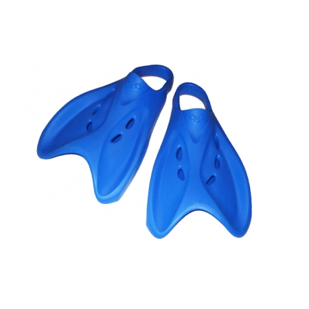 Ласты тренировочные с открытой пяткой (пяточный ремень) ARENA AR-95208-70 Tech Fin (р-р 38-39,44-45,синие)