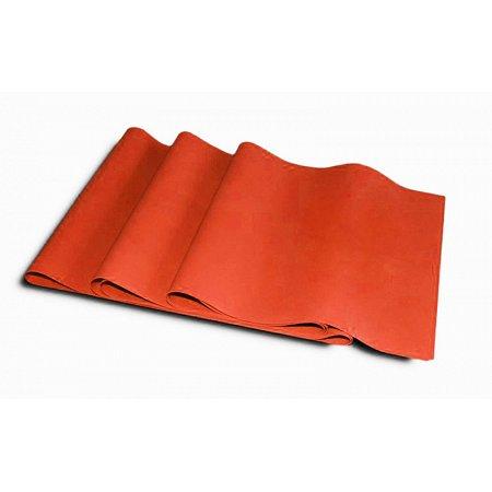 Лента для пилатеса (эласт. лента) (р-р 1,5м x 15см x 0,35мм) FI-2658-1,5 (силикон, 77г, оранжевый)
