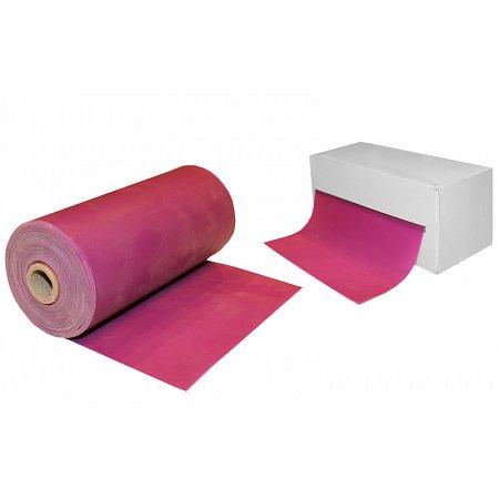 Лента для пилатеса в рулоне (эласт. лента) (р-р 5,5м x 15см x 0,55мм) FI-3945-5,5 (сил, фиолетовый)