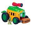 Лео и фургон, боевой транспорт серии Малыши Черепашки-Ниндзя, TMNT, 96776