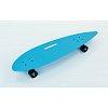 Лонгборд круизер пластиковый Penny 36in дека с отверстием SK-5563-1 (PU, р-р 93x23см, мятный-черный)