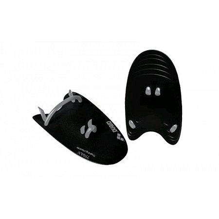 Лопатки кистевые для плавания ARENA AR-95231-51-S TRAX HAND PADDLE (TPR, силикон, р-р S, черные)