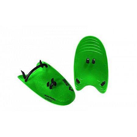 Лопатки кистевые для плавания ARENA AR-95231-65-S TRAX HAND PADDLE (TPR, силикон, р-р S, зеленые)
