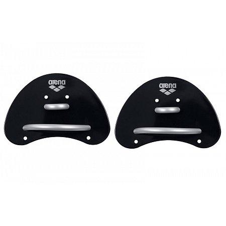 Лопатки кистевые для плавания ARENA AR-95251-55-S ELITE FINGER PADDLE (TPR, резина, р-р S, черно-серые)