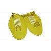 Лопатки кистевые для плавания PL-6930 (пластик, резина, PVC чехол, синие, желтые)