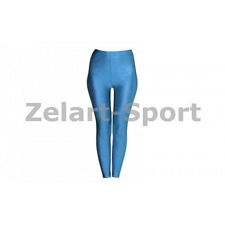 Лосины Бифлекс для взрослых CO-1962-BL(XL) голубые (р-р XL, рост-155-165см)