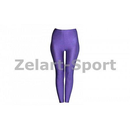 Лосины Бифлекс для взрослых CO-1962-V(XL) фиолетовые (р-р XL, рост-155-165см)