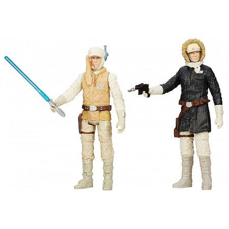 Люк Скайуокер и Хан Соло, фигурки 10 см, Star Wars, B0129 (A5228-17)