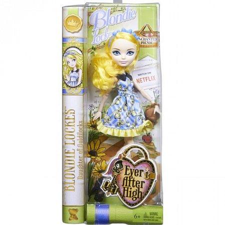 Лялька Чарівний пікнік в ас.(3) Ever After High, Mattel, в желто-голубом платье (CLL49-2)