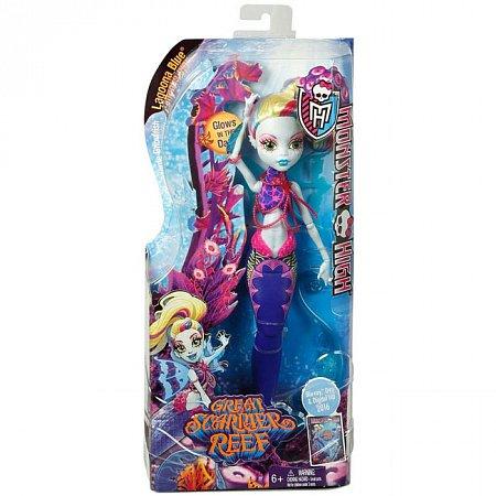 Лялька Монстро-рибка з м/ф Великий монстровий риф в ас.(3) Monster High, Lagoona Blue, DHB57-2