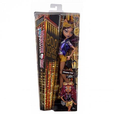 Лялька серії Монстуристи з м/ф Буу-Йорк, Буу-Йорк! в ас.(3) Monster High, Клаудин Вульф, Mattel (CHW57-1)