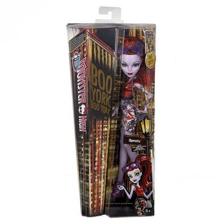 Лялька серії Монстуристи з м/ф Буу-Йорк, Буу-Йорк! в ас.(3) Monster High, Оперетта, Mattel (CHW57-3)