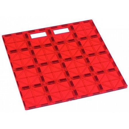 Магнитный конструктор платформа для строительства (красная), Playmags, PM167-1